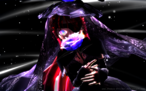 -MMD- R_black by Shebra-Evilver