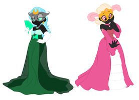 Pretty Dresses by 2devils