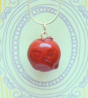 Snow White's 'Poisoned Apple' necklace by citruscouture