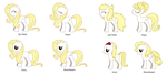 MLP The Four Lovely Sisters by mistyfoxx244