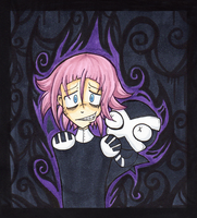 + Crona and Ragnarok + by skullnuku