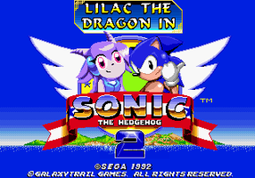 Lilac in Sonic 2 - Title Screen (HOAX) by ItalianGamer97