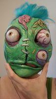 Shantz ghoul mask PAINTED by missmonster