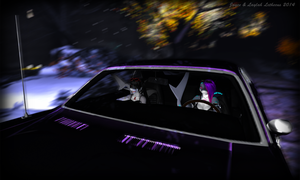 Jayce and Laylah -We Drove All Night- Second Life by Jace-Lethecus