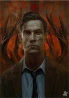 Rust cohle (true detective ) by saadirfan