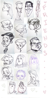 Tumblr Sketches by ghostcharmer