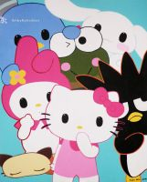 Hello Kitty and Friends by KylieShai