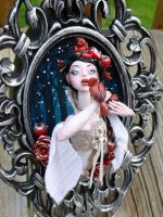 Snow White Framed Sculpture by MysticReflections