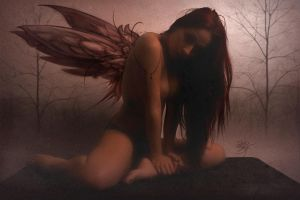 Red Fairy by DavidBollt