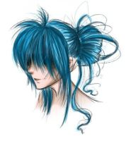 Blue Hair by dreamangelkristi