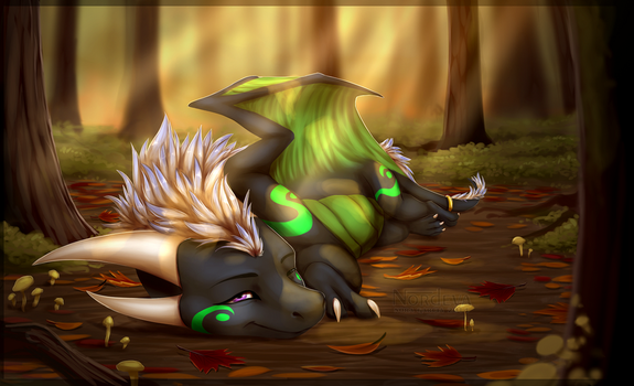 Warmth of the Fall by Nordeva