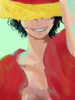 Colorized luffy by tiffany42