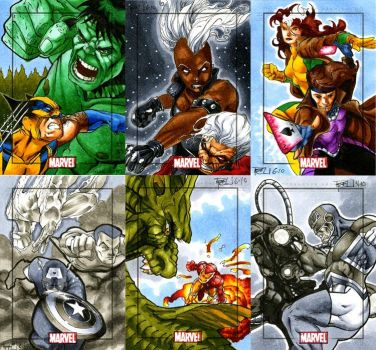 Marvel Heroes and Villains 02 by RichardCox