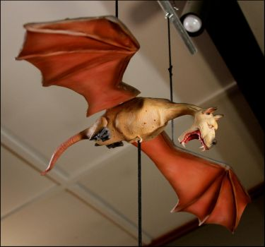 Hanging Bat-like Creature by RandyHand