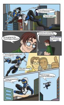 Spiderman Weaver Comic pg3 by KGH786