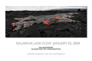 Kilauea's volcano 26th Anniv. by extremeimageology