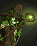 The Swamp Witch by InkyFridays