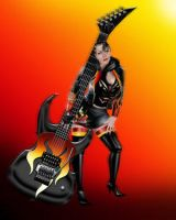Heavy Metal Muse by GuitarGirlsClub