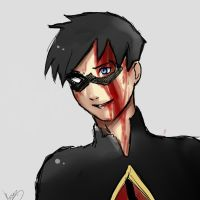Young Justice-  Dick Grayson Aka Robin by Kurarpc