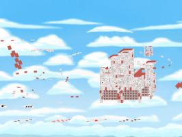 Card Castles in the Sky by JuneII