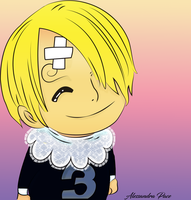 Color :Baby Sanji One Piece 852 By Fla29 by AlmaChiaraAlex