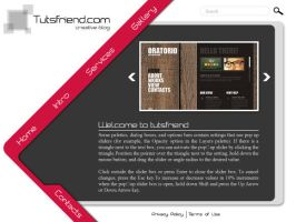 Web template by emperorwarion