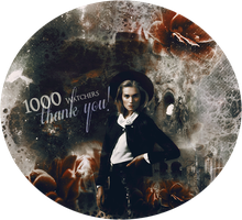 1000 watchers! by Carllton