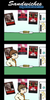 RE Comic : Sandwiches by Striped-Tie