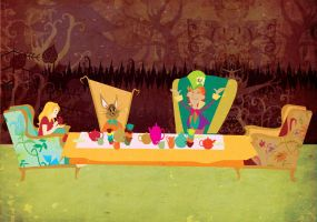 Mad tea party by Zuza182