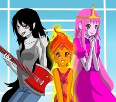 The Wild One The Hot One The Sweet One by maimai97