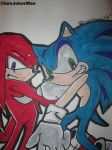 Sonic And Knuckles by IamJokerMan