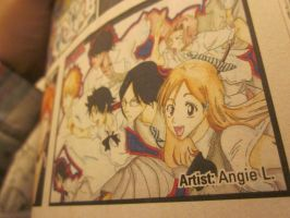 My art in Shonen Jump Magazine by TheDorkyDerpster