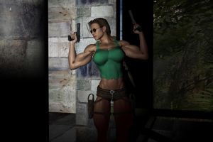 Lara Croft - Tomb Raider by plinius