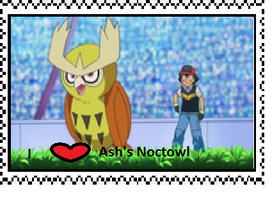 Ash's Noctowl fan stamp by Fran48