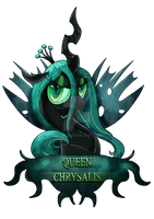 Queen Chrysalis Shirt Design by Ilona-the-Sinister