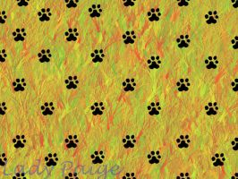 Paw Print Wallpaper by LadyPaigeTigeress