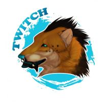 Realistic Twitch Badge by The-Shy-Violinist