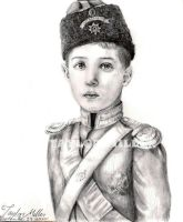 Alexei in uniform portrait by Gorseheart