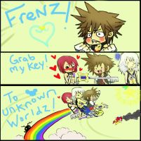 KH- FRENZ GRAB MY..... by DreamaMoonlight