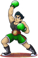 'Mario+Luigi'' RPG Style: Little Mac (Punch Out!!) by Master-Rainbow