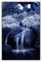 Waterfall Garden IR 2 by Zoomwafflez