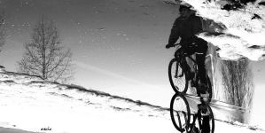 Cyclist's world by s-ascic