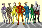 The Justice Squadron by kjmarch