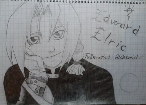 Edward Elric... my little shorty :3 by Catharaa