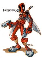 Funky deadpool by Red-J