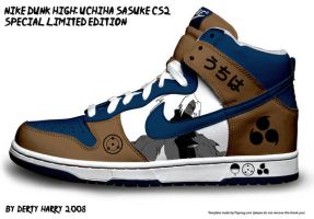 NIke Dunk High: Sasuke CS2 by DertyHarry