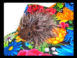 Porcupine Amigurumi by Sparrow-dream