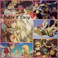 Nalu Collage by YellowKiiroitori