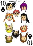 Negima -  10 of Clubs by pheeph