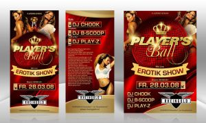 Player's Ball Flyer 2 by kejdi